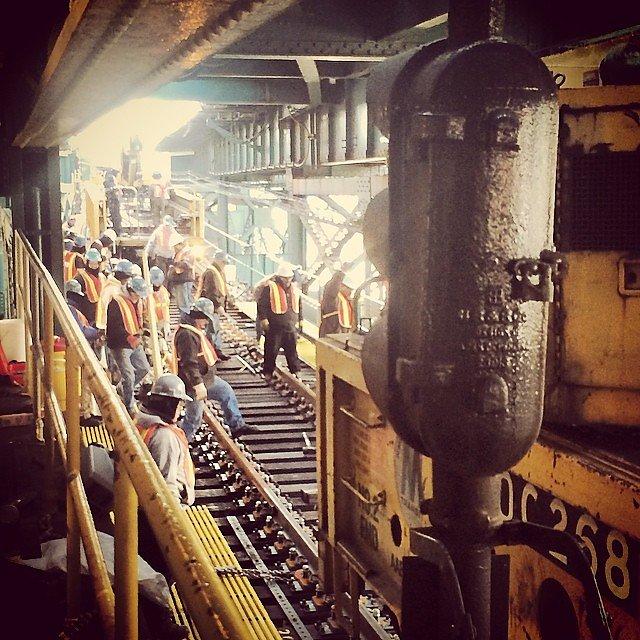 Rail work