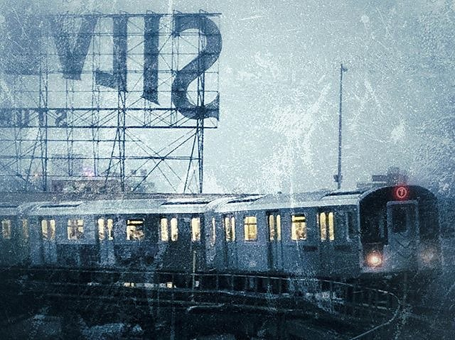 A grungy 7 train to Queens