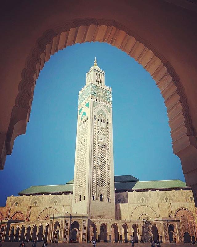 Hassan Mosque #Casablanca #morocco