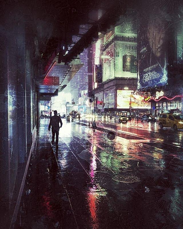 Midtown Downpour