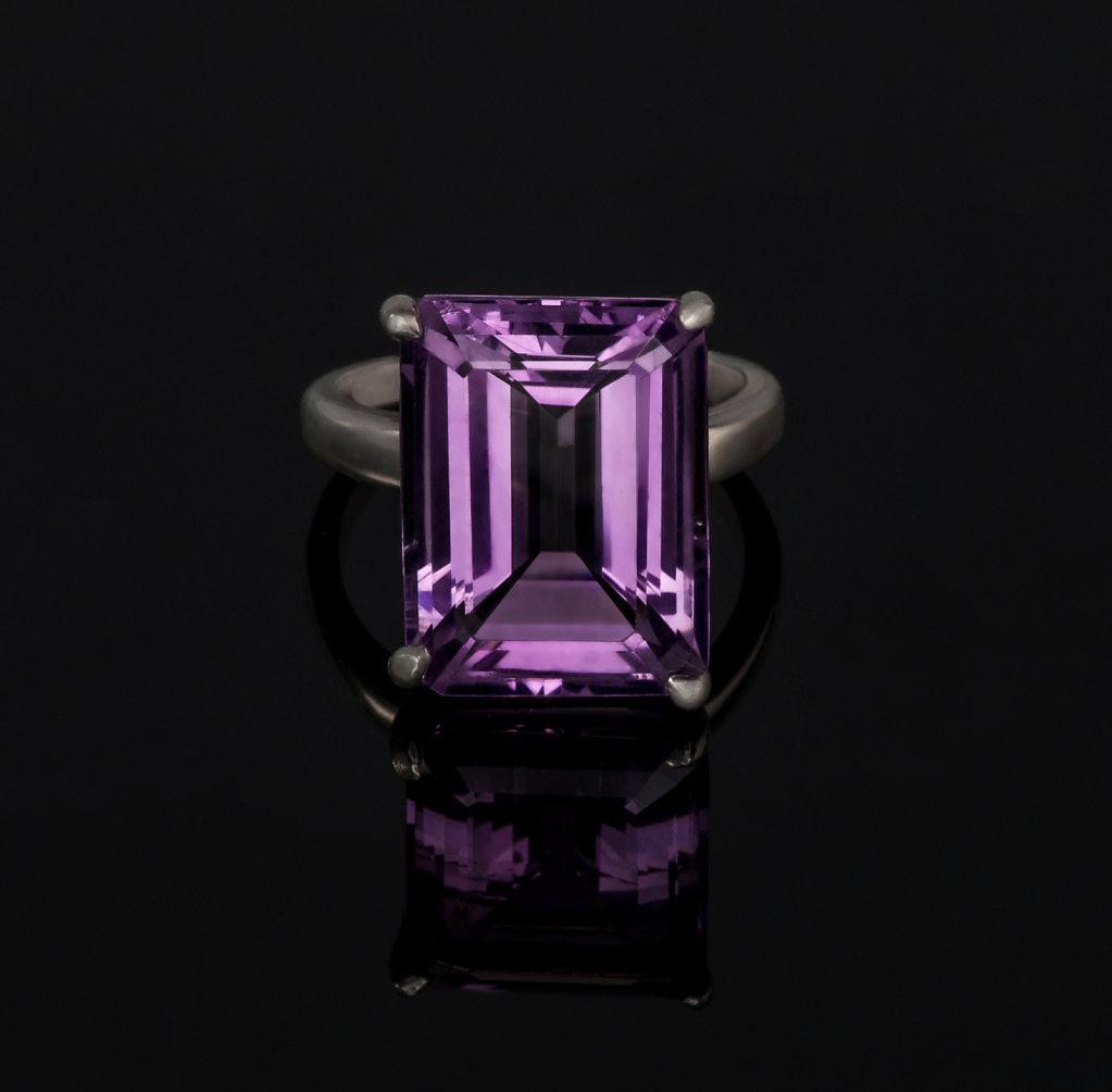 Amathist Ring